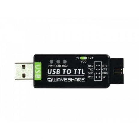 Waveshare Industrial USB TO TTL Converter Original FT232RL