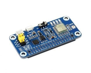 Waveshare L76X Multi-GNSS HAT for Raspberry Pi, GPS, BDS, QZSS