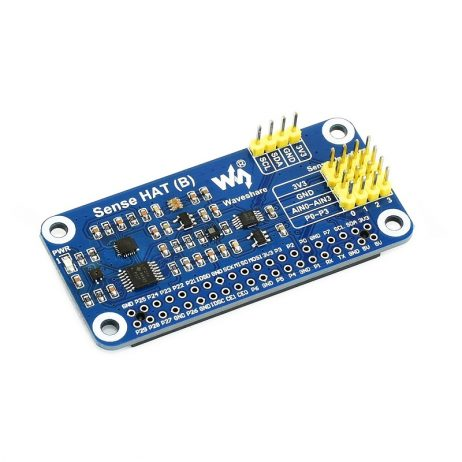 Waveshare Sense HAT (B) for Raspberry Pi, Multi Powerful Sensors