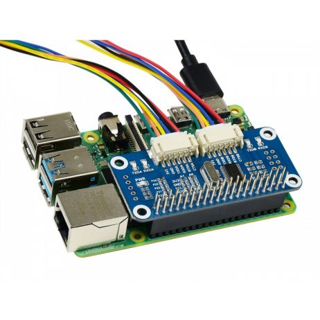 Waveshare Serial Expansion HAT for Raspberry Pi