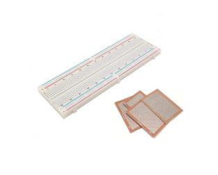 Breadboard and Zero PCBs