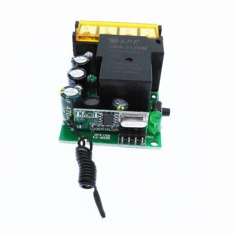 12V DC Wireless Remote Control Switch AC 220V 110V MAX 40A Universal Relay Receiver Module