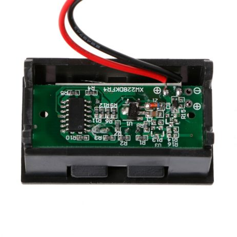 12V Two Wire Digital Display Battery Level Indicator