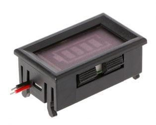 24V Two Wire Digital Display Battery Level Indicator