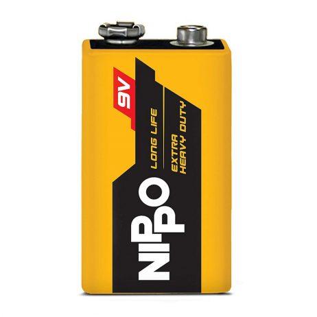 9V Original Nippo Extra Heavy Duty Battery