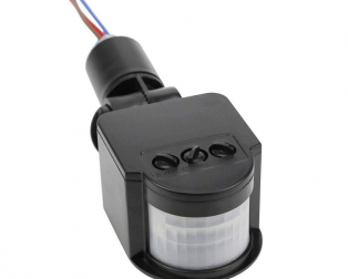 AC 220V Security PIR Human Body Motion Sensor Detector Coil LED Light Switch