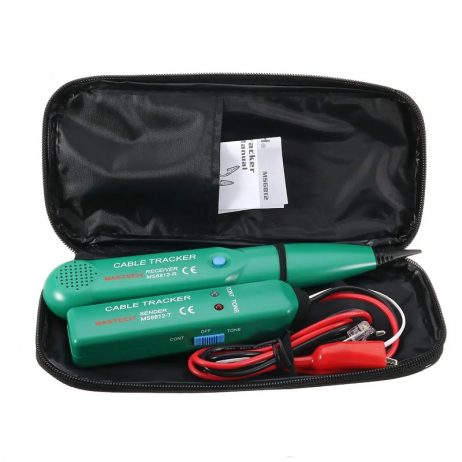 AIMOMETER MS6812 Cable Finder Tone Generator Probe Tracker Wire Network Cable Tester Tracer