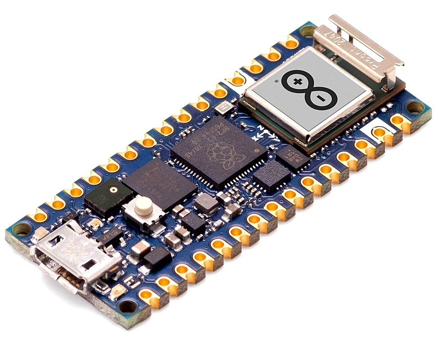 Arduino Nano RP2040 Connect without Header