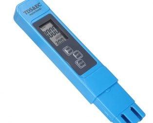 Blue TDS&EC Digital LCD EC Meter Conductivity Tester