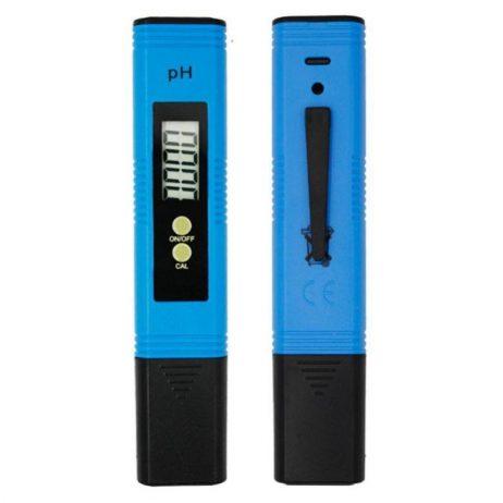 Blue pH02 Digital LCD pH Meter Pen of Tester Range 0.00-14.00