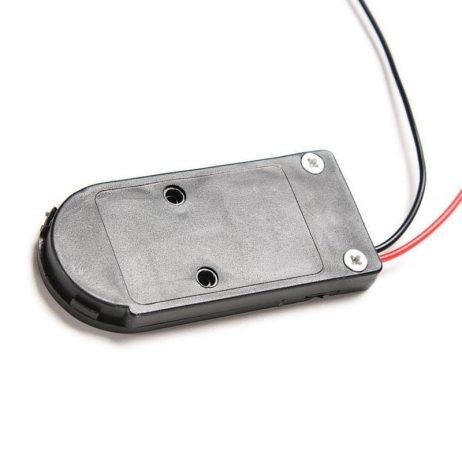 CR2032 3V Button Coin Cell Battery Holder Case Box With On-Off Switch Top- 2 Pcs.