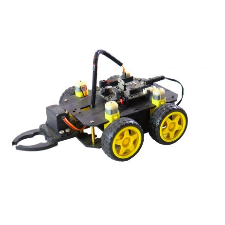 Cligo Wireless Bluetooth Controlled Gripper Robot Car Kit For Kids