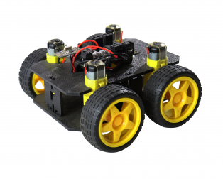 Cligo Wireless Remote Controlled Smart Robot Car Kit For Kids