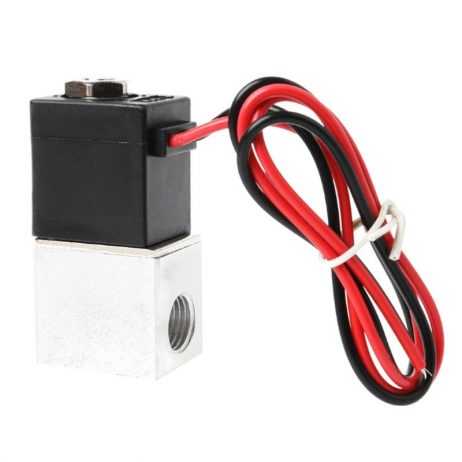 """DC 24V Solenoid Valve 1/4"""" 2 Way Normally Closed Direct-Pneumatic Valves For Water Air Gas Hot"""