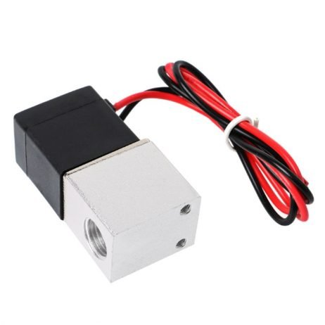 """DC 24V Solenoid Valve 1/8 2"""" Way Normally Closed Direct-Pneumatic Valves For Water Air Gas Hot"""