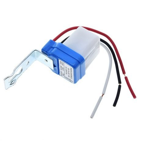 DC Automatic On/Off Photocell Street Lamp Light Switch Controller AC 220V 50-60Hz 10A