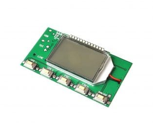 DSP PLL 87-108Mhz Stereo FM Transmitter Module Digital LCD Display Wireless Microphone Board Multi-function Frequency Modulation