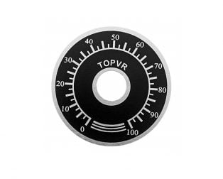 Dial 0-100 for Potentiometer Knob
