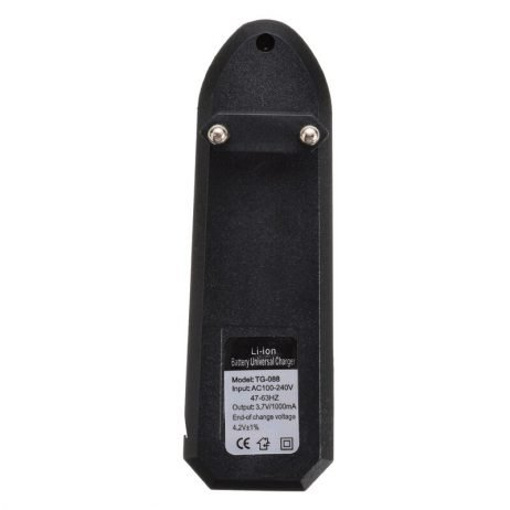 EU Plug Universal Battery Charger For 18650 16340 14500 Li-ion Rechargeable Battery Charger