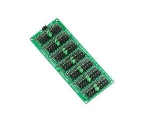 Green 7 Decade Resistor Board 1R - 9999999R Programmable Resistor