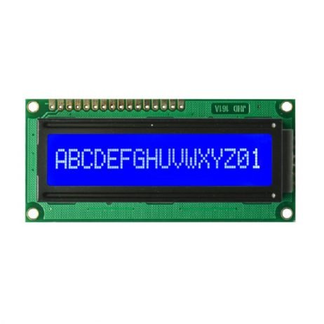JHD 16×1 Character LCD Display With Blue Backlight