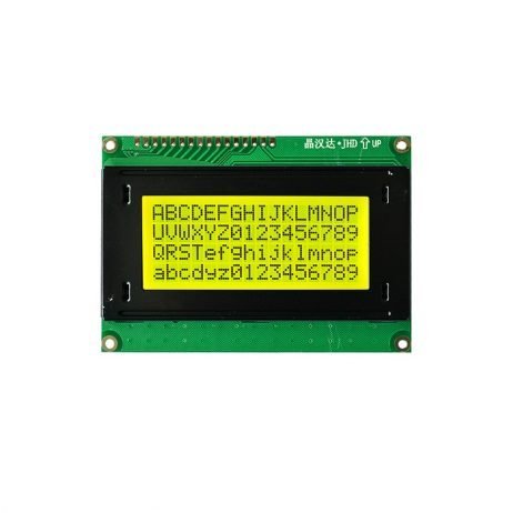 JHD 16×4 Character LCD Display With Yellow Backlight