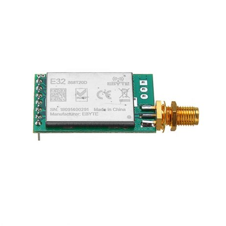 LoRa 433MHZ SX1278 SX1276 Wireless Transmitter and Receiver RF Module 8000M E32-433T30D1B UART