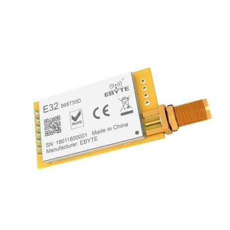 LoRa 868MHZ SX1276 Wireless Transmitter and Receiver RF Module E32-868T30D