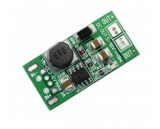 Low Voltage High Power Step-Up Regulator Module 8W 5V~12V USB Bonding Pad to DC Version
