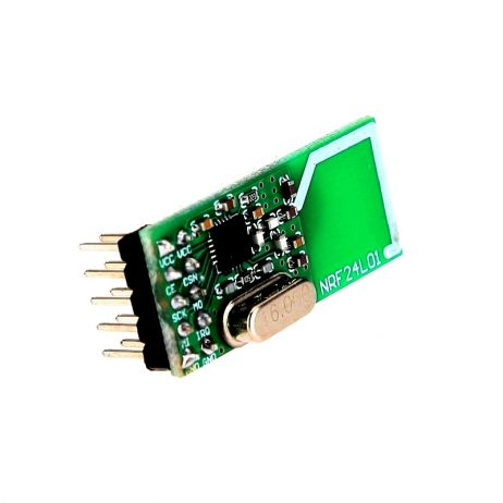 NRF24L01 Wireless Data Transmission module (Green) 10pin
