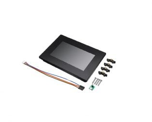 """Nextion Intelligent NX4827P043_011C_Y 4.3"""" HMI Resistive Touch Display with enclosure"""