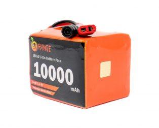Orange 18650 Li-ion 10000mAh-3s-11.1v-3c 3S4P