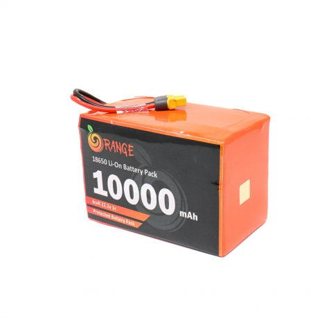 Orange 18650 Li-ion 10000mAh-6s-22.2v-3c 6S4P