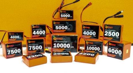 Orange 18650 Li-ion 2200mAh-4s-14.8v-3c 4S1P