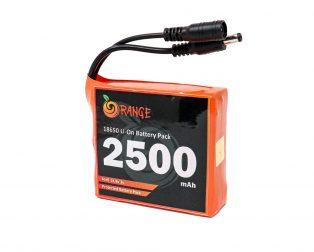 Orange 18650 Li-ion 2500mAh-4s-14.8v-3c 4S1P