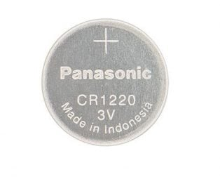 Panasonic CR1220 3V Lithium Coin Battery