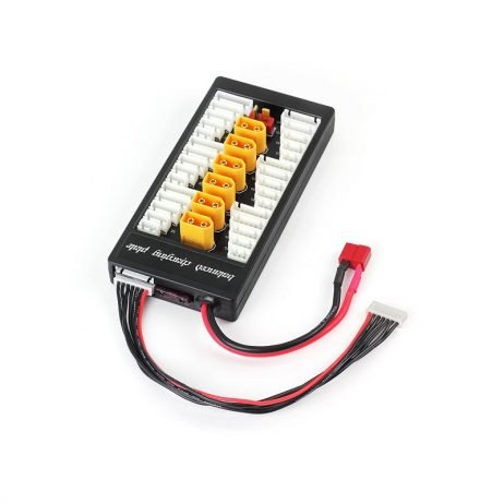 Parallel charging Board for 6 packs 2~6S (XT60-Male)