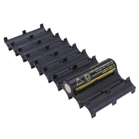 Professional 10x 18650 Battery Cell Spacer Holder