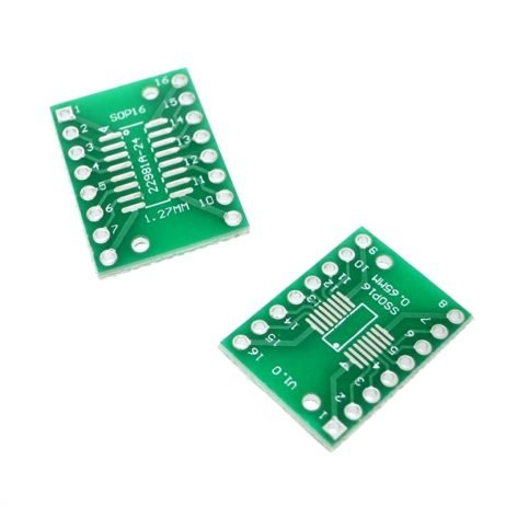 SOP16 Transfer to DIP16 IC Adapter Converter Adapter Plate