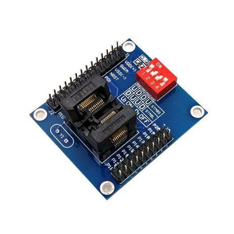 STM8S 8L TSSOP20 Burning Testing Holder Downloader Offline Programmer