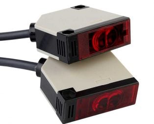 Switch Infrared Beam Photoelectric Sensor Photocell E3JK-5DM1 DC12-24V Detecting Distance 5M
