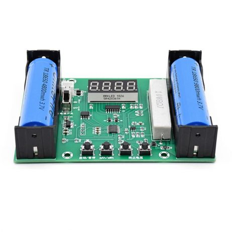 XH-M240 Battery Capacity and Discharge Energy Testing Meter For 18650 Lithium-Ion Battery