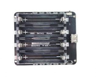 4 x 18650 Lithium Battery Shield V8 V9 Mobile Power Expansion Board Module 5V/3A 3V/1A Micro USB for Arduino ESP32 ESP8266