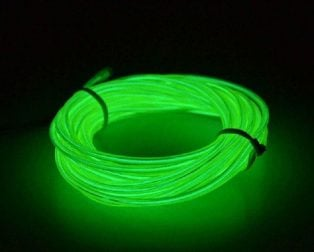 5M Neon Light Only EL Wire -GREEN