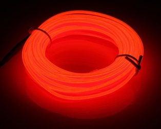 5M Neon Light Only EL Wire -ORANGE