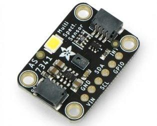 Adafruit AS7341 10-Channel Light Color Sensor Breakout - STEMMA QT/Qwiic