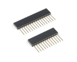 Adafruit Stacking Headers for Feather- 12-Pin and 16-Pin Female Headers