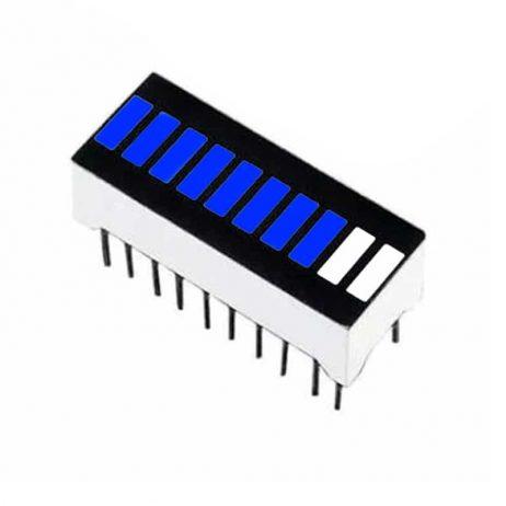 Blue 10 Segment LED Display