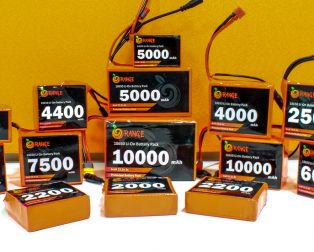Orange Lithium-Ion Battery