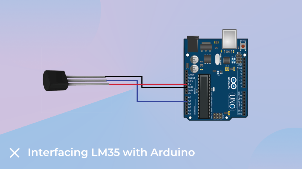 LM35 Interfacing with the arduino